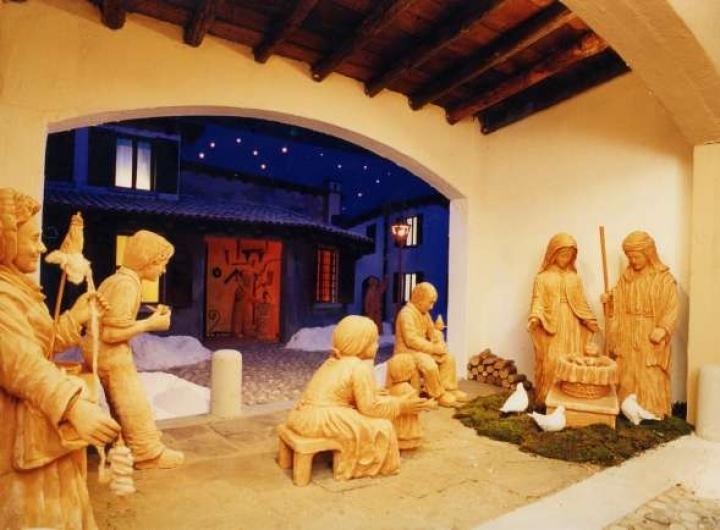 Presepi Natale a Venezia Foto